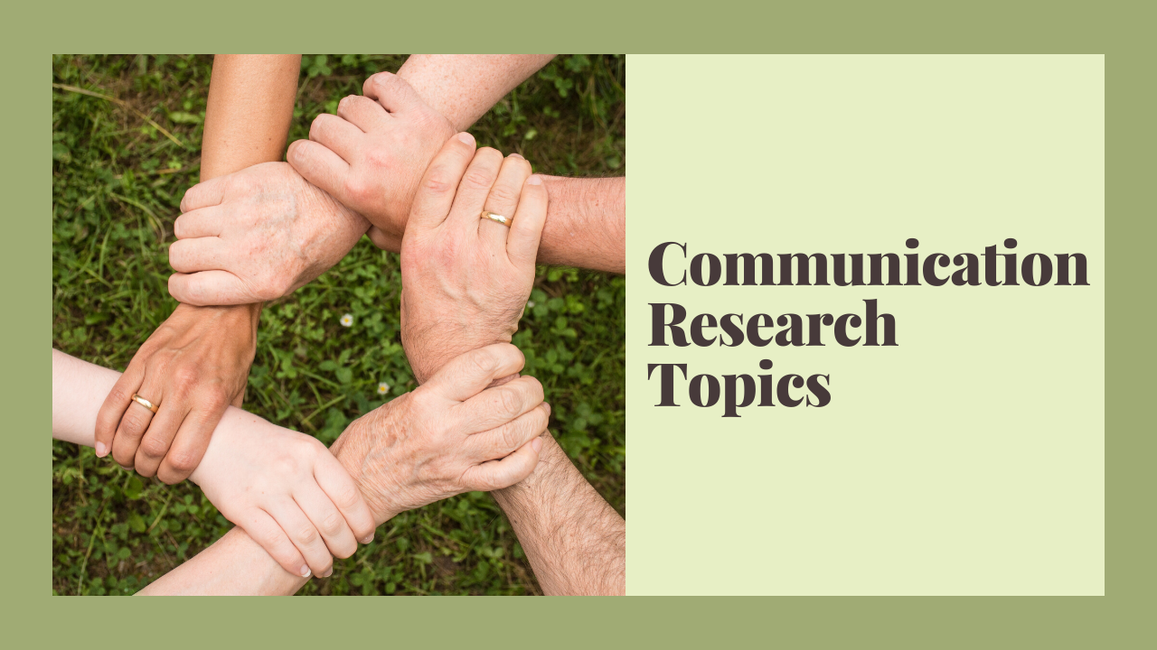 communication research topics