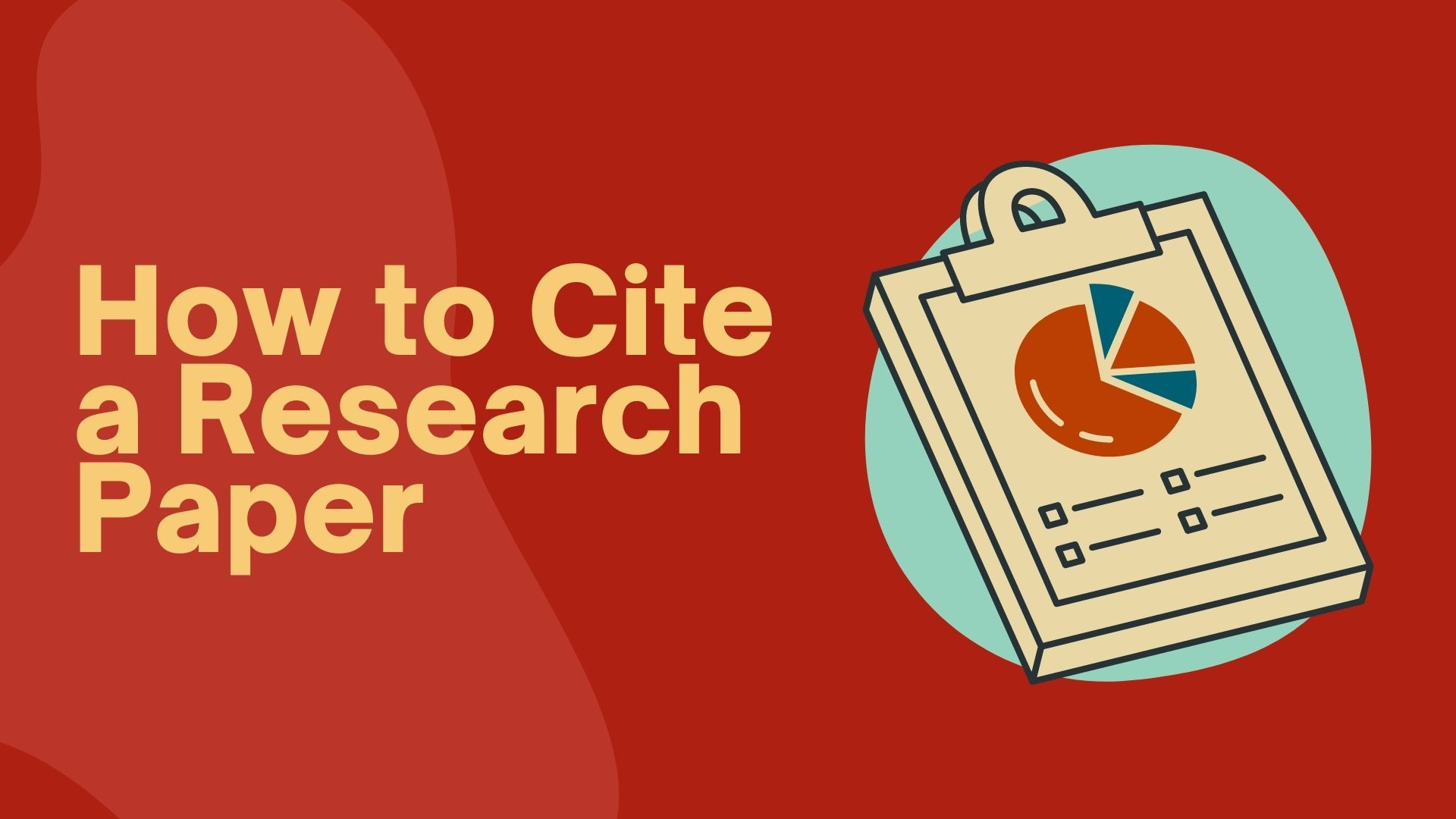 how to cite a research paper